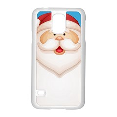 Christmas Santa Claus Letter Samsung Galaxy S5 Case (white) by Alisyart