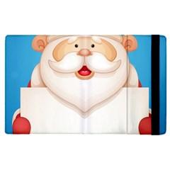 Christmas Santa Claus Letter Apple Ipad Pro 9 7   Flip Case by Alisyart