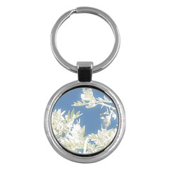 Nature Pattern Key Chains (round)  by dflcprintsclothing