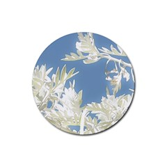 Nature Pattern Rubber Round Coaster (4 Pack)  by dflcprintsclothing