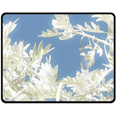Nature Pattern Fleece Blanket (medium)  by dflcprintsclothing