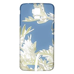 Nature Pattern Samsung Galaxy S5 Back Case (white) by dflcprintsclothing