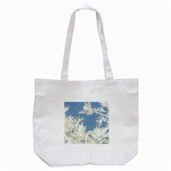 Nature Pattern Tote Bag (white) by dflcprintsclothing