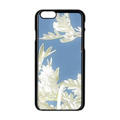 Nature Pattern Apple Iphone 6/6s Black Enamel Case by dflcprintsclothing