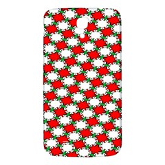 Christmas Star Red Green Samsung Galaxy Mega I9200 Hardshell Back Case by Alisyart