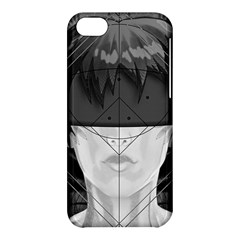 Beautiful Bnw Fractal Feathers For Major Motoko Apple Iphone 5c Hardshell Case by beautifulfractals
