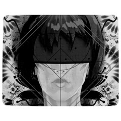 Beautiful Bnw Fractal Feathers For Major Motoko Jigsaw Puzzle Photo Stand (rectangular) by jayaprime