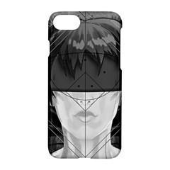 Beautiful Bnw Fractal Feathers For Major Motoko Apple Iphone 8 Hardshell Case by beautifulfractals