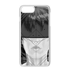 Beautiful Bnw Fractal Feathers For Major Motoko Apple Iphone 8 Plus Seamless Case (white) by beautifulfractals