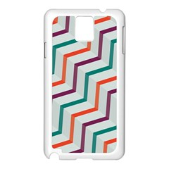 Line Color Rainbow Samsung Galaxy Note 3 N9005 Case (white) by Alisyart