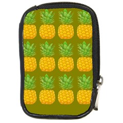Fruite Pineapple Yellow Green Orange Compact Camera Cases by Alisyart