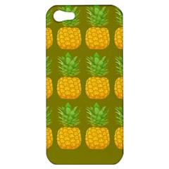 Fruite Pineapple Yellow Green Orange Apple Iphone 5 Hardshell Case by Alisyart