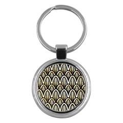 Art Deco Key Chains (round)  by 8fugoso
