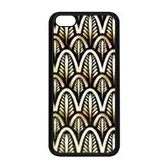 Art Deco Apple Iphone 5c Seamless Case (black) by 8fugoso