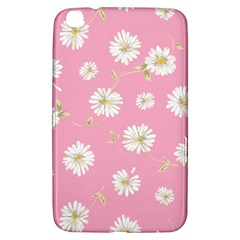 Pink Flowers Samsung Galaxy Tab 3 (8 ) T3100 Hardshell Case  by 8fugoso
