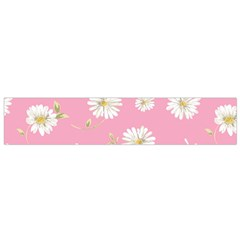 Pink Flowers Small Flano Scarf by 8fugoso