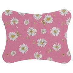Pink Flowers Jigsaw Puzzle Photo Stand (bow) by 8fugoso