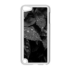 Black And White Leaves Photo Apple Ipod Touch 5 Case (white) by dflcprintsclothing