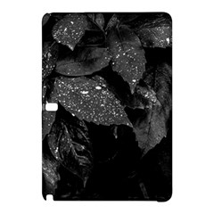 Black And White Leaves Photo Samsung Galaxy Tab Pro 12 2 Hardshell Case by dflcprintsclothing