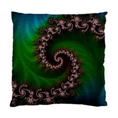 Benthic Saltlife Fractal Tribute For Reef Divers Standard Cushion Case (two Sides) by beautifulfractals