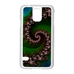 Benthic Saltlife Fractal Tribute For Reef Divers Samsung Galaxy S5 Case (white) by beautifulfractals
