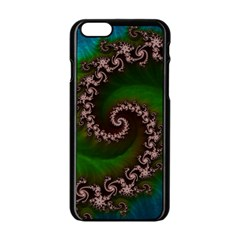 Benthic Saltlife Fractal Tribute For Reef Divers Apple Iphone 6/6s Black Enamel Case by beautifulfractals
