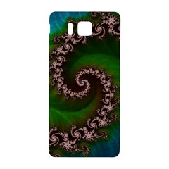 Benthic Saltlife Fractal Tribute For Reef Divers Samsung Galaxy Alpha Hardshell Back Case by beautifulfractals