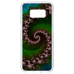 Benthic Saltlife Fractal Tribute For Reef Divers Samsung Galaxy S8 White Seamless Case by beautifulfractals