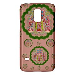 Sankta Lucia With Friends Light And Floral Santa Skulls Galaxy S5 Mini by pepitasart