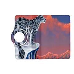 Lion Tigel Chetah Animals Snow Moon Blue Sky Kindle Fire Hd (2013) Flip 360 Case by Alisyart