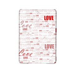 Love Heart Valentine Pink Red Romantic Ipad Mini 2 Hardshell Cases by Alisyart