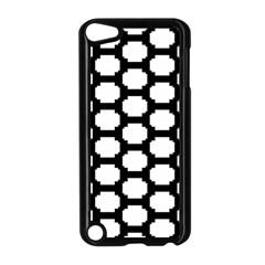 Tile Pattern Black White Apple Ipod Touch 5 Case (black) by Alisyart
