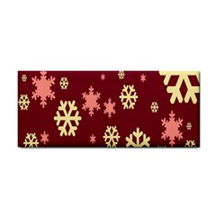 Snowflake Winter Illustration Colour Cosmetic Storage Cases by Alisyart