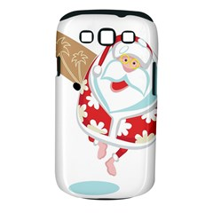 Surfing Christmas Santa Claus Samsung Galaxy S Iii Classic Hardshell Case (pc+silicone) by Alisyart