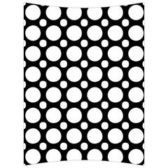 Tileable Circle Pattern Polka Dots Back Support Cushion by Alisyart
