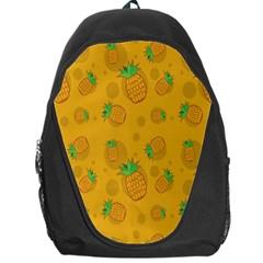 Fruit Pineapple Yellow Green Backpack Bag by Alisyart