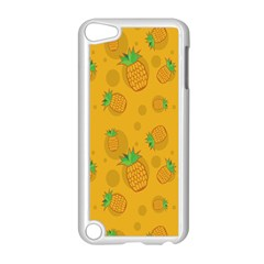 Fruit Pineapple Yellow Green Apple Ipod Touch 5 Case (white) by Alisyart
