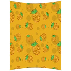 Fruit Pineapple Yellow Green Back Support Cushion by Alisyart