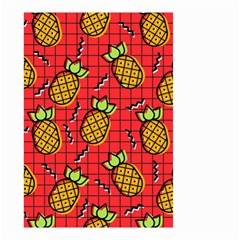 Fruit Pineapple Red Yellow Green Small Garden Flag (two Sides) by Alisyart