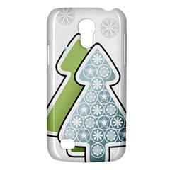 Tree Spruce Xmasts Cool Snow Galaxy S4 Mini by Alisyart