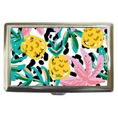 Fruit Pattern Pineapple Leaf Cigarette Money Cases by Alisyart