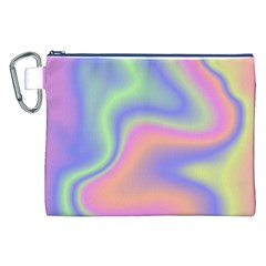 Holographic Design Canvas Cosmetic Bag (xxl) by tarastyle
