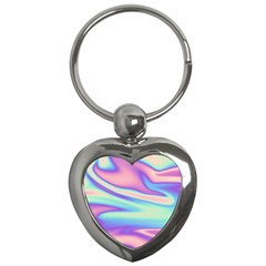 Holographic Design Key Chains (heart)  by tarastyle