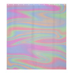 Holographic Design Shower Curtain 66  X 72  (large)  by tarastyle