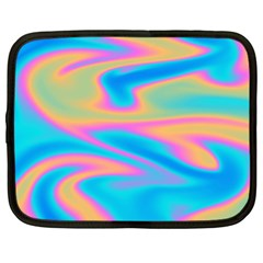 Holographic Design Netbook Case (large) by tarastyle