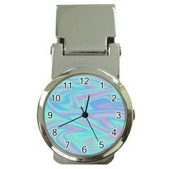 Holographic Design Money Clip Watches by tarastyle