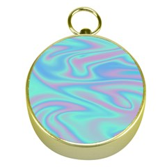 Holographic Design Gold Compasses by tarastyle