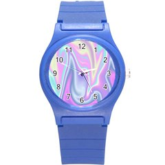Holographic Design Round Plastic Sport Watch (s) by tarastyle