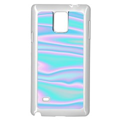 Holographic Design Samsung Galaxy Note 4 Case (white) by tarastyle