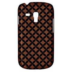 Circles3 Black Marble & Brown Denim Galaxy S3 Mini by trendistuff